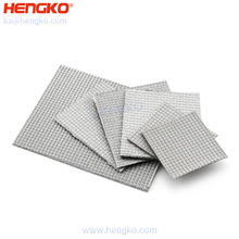 Durable custom 0.2-100 microns sintered stainless steel mesh filter plate for filter press equipment