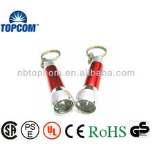 high power aluminum 5 LED Key Chains
