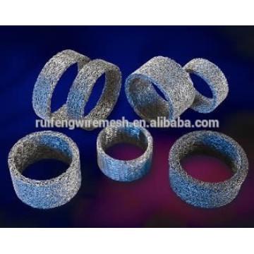 Malla de alambre de punto comprimido (filtro de escoria Airbag)