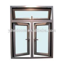 material da janela do batente e janela de alumínio da grelha