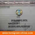 Custom Security Hologram Hot Stamping Sticker