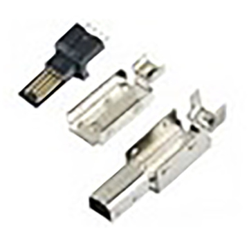 Mini USB 5P Plug Solder Assemble B Type