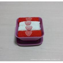 (BC-G1004) Werbegeschenk-Frottee-Tuch mit Aufbewahrungsbehälter