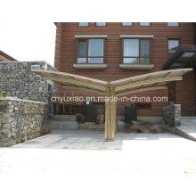 Durable Aluminium Carport Zelt, Outdoor Garten Gebrauchte Carport, Polycarbonat Auto Shelter