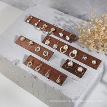 Pendientes Anillos Soporte de exhibición de joyas Accesorios de exhibición Soporte de joyería