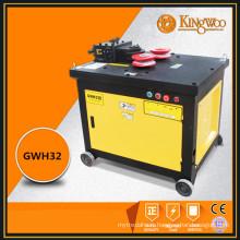 Poursuivant agence 3KW barres d'acier incurvé machine GWH32