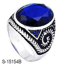 Новое Прибытие 925 стерлингового серебра ювелирные изделия кольца с стеклом
