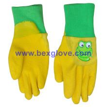 Kids Garden Style Handschuh, Color Interlock, Latex beschichtet