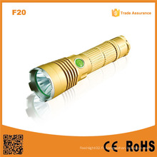 F20 Xml T6 Rechargeable Police Flashlight / Hunting Lampes LED