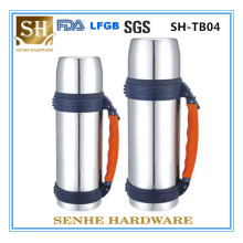 Portable Stainless Steel Thermos Cold Water Pot with Handle (SH-TB04)