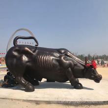 Estátua de touro wall street de alta qualidade