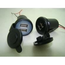 12V ABS Material Full Speed Notfall Auto Ladegerät mit USB Wirtschaftlich