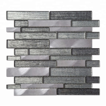 High Quality Glass Mixed Aluminum Tiles Mosaic with Low Price