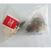 Selo de calor pirâmide de qualidade alimentar teabag