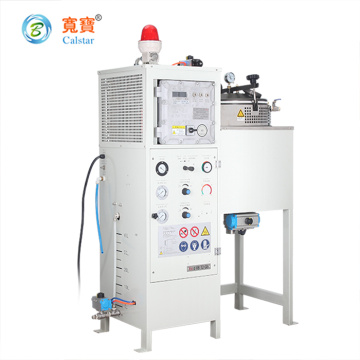Automatic Acetic acid solvent recycling solution with vacuum condenser