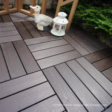 Low price boat deck DIY 300x300mm floor wpc tile from china manufacturer