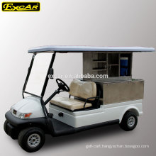2 seater electric golf cart club car golf cart utility vehicles food buggy car
