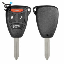 Made in China car keys for chrysler key blank 4button ys200638