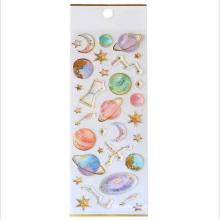 Kawaii Decorative Phone Cartoon Unicorn 3d Crystal Epoxy Resin Sticker