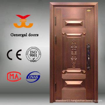 High quality exterior Brass copper door