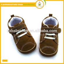 2015 heiße Verkaufsqualitätsart und weise reizende Mikrovelourslederbaby sports Schuhe