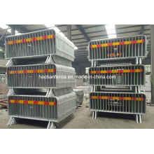 Kundenspezifische Metal Crowd Control Barrier, Portable Barrikaden, Fußgänger Barrieren