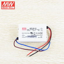 MEAN WELL 12Vdc LED Driver 36W with UL CB CE approved APV-35-12