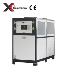 Manufacturer CE 10 HP hot sale overseas carrier air cooled chiller