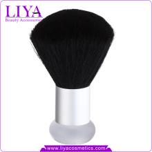 Neuen Liya schwarze Ziege Haar Kabuki Pinsel Private Label