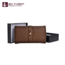 HEC Brand Fashion PVC PU Leather Wallet Multicolor Ladies Purse