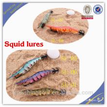 FSQL002 12 cm / 16g señuelo de la pesca molde moldes de cebo de calamar de pesca de agua salada aparejos cebos calamar