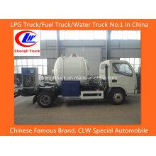 Asme Dongfeng 5,5 Cbm LPG (gás de petróleo liquefeito) Caminhão-tanque