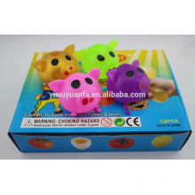 Colorful Pig Sticky Water Ball