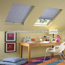 China hot sale honeycomb curtain,double glass window blind