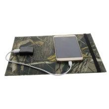 Paquete plegable del bolso del cargador de la energía solar del libro eléctrico del iPad del teléfono móvil del soporte 10W