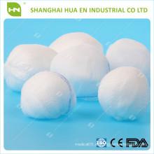 CE FDA ISO genehmigt Einweg-medizinische Verbrauchsmaterialien Made In China Absorbierende Gaze Bälle