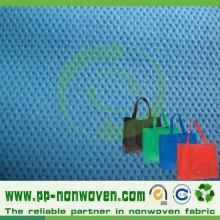 PP Spunbond tela no tejida para la fabricación de bolsos