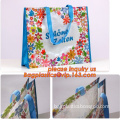 promotion bags, resuable laminated pp woven shopping bag, PP Plastic Woven Reusable Shopping Bag, hand made bags
