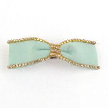 Fashion Hair Jewelry/ Ribbon Hair Clip/Diamond Hair Clip (XHB1422)