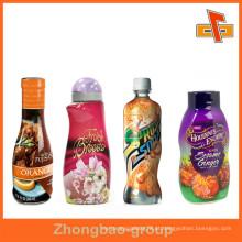 Etiqueta colorida do suco de fruto do calor da cópia colorida da impressão, etiqueta para as garrafas do pulverizador / Lotion