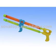 Doble pistola de agua de tubo pistola, tirador de agua de plástico, tirador de agua de juguete-914063498