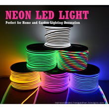 110v 220v flexible neon strip light red blue yellow green warm white rgb outdoor decoratio led neon flex price