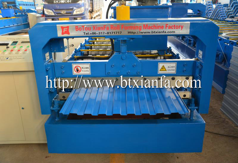 rolling door roll forming machine