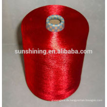 120D / 30F beste Qualität Kuchen gefärbt Viskose Filament Garn