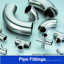 3A Braçadeira Elbow Stainless Steel Pipefittings