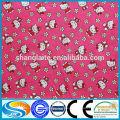 Tela común de tela de algodón de franela