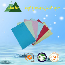 Factory Direct Sale 80GSM Color Copy Paper Printer Paper with A4 Letter Size