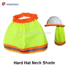Accessoires de casque de protection, casque de sécurité Sun Shade réfléchissant col de l'oreille protège-oreilles