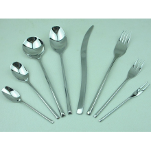 Stainless steel cutlery at home kitchen