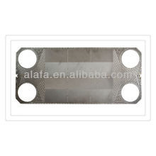 M30 equally plates and gaskets for heat exchanger,ss304,136,Ti material,heat exchanger plates